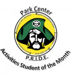 Isis Satchell- January Pirate PRIDE Activities Student of the Month!