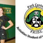 Lauren Frost- November Pirate PRIDE Activities Student of the Month!