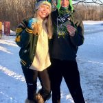 Elizabeth Mattson and Josh Reed Earn All-Conference at NWSC Nordic Ski Meet!