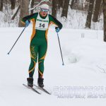 Elizabeth Mattson and Girls Nordic Ski Team Succeed at Section Meet