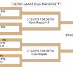 Boys Basketball Secures #1 Seed in Sections!