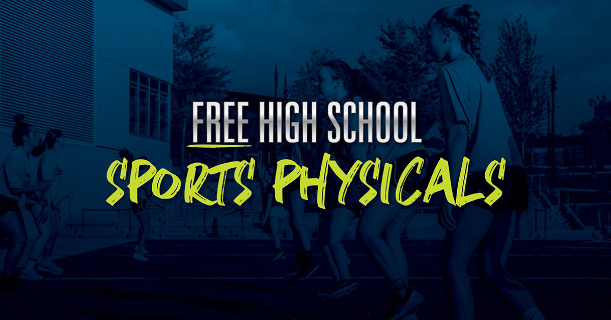 Get a FREE Sports Physical!