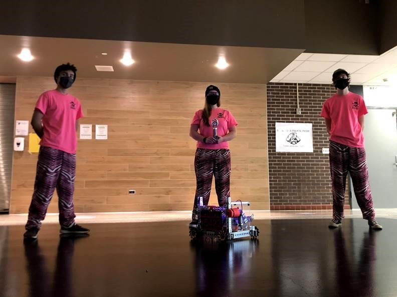 Fall FTC Robotics Team Advances to State