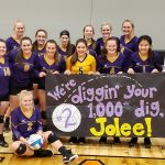 Lillquist Gets 1,000 in Trojans Win