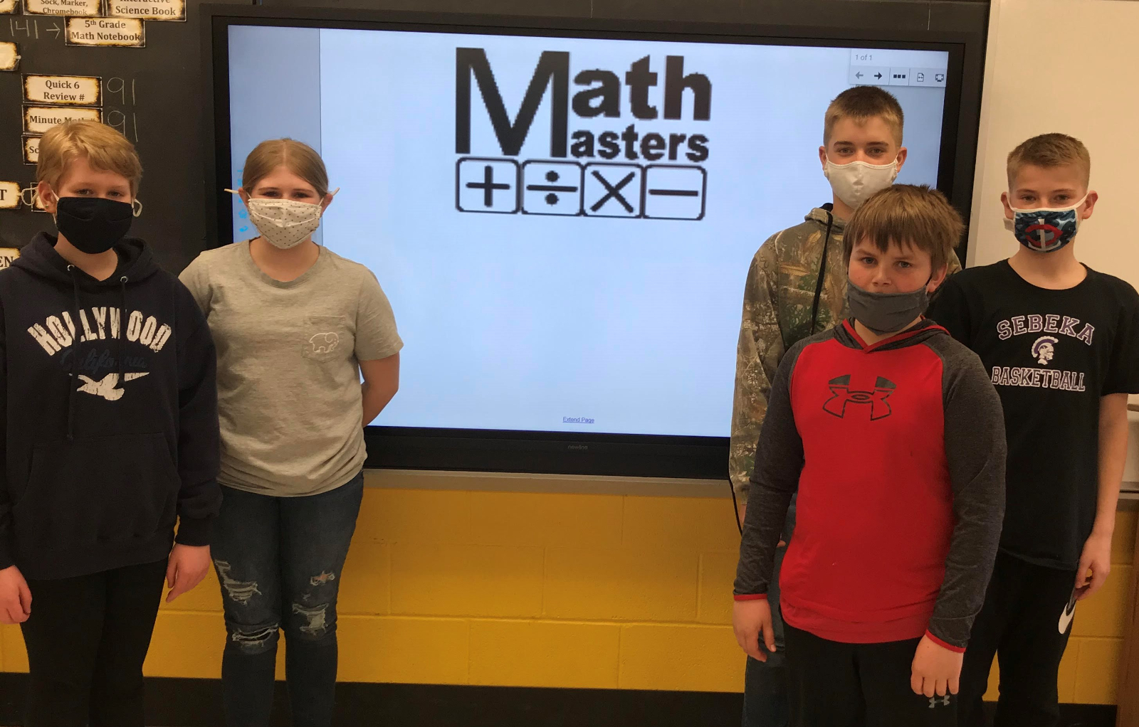 6th Grade Math Masters Places 3rd