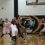 Girls Varsity Basketball Closes Regular Season With Exciting Win