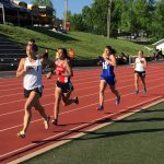 FHS Girls Track Team Places Second at Conference Meet