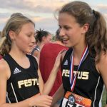 Middle School Girls Cross Country Finishes Second at Hillsboro Invitational