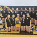 Varsity Volleyball Plays Well in Second Place Performance at Biehle Invitational