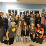 FHS Volleyball Visits Nursing Home