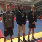Varsity Wrestlers Take Fifth Place at Central Rebels Invitational