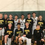 Seventh Grade Boys Pull Away in Second Half to Grab Conference Basketball Title