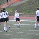 Girls JV Soccer Shut Out in Season Opener