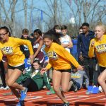 Varsity Girls Track Team Finishes Fifth in Tight Race at Tiger Town