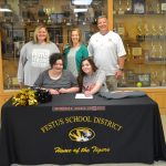 Dean Signs to Cheer at Mineral Area
