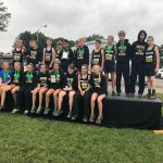 Girls Middle School Cross Country finishes 2nd place at Forest Park Invitational
