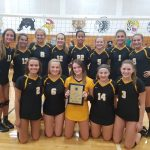 Girls Varsity Volleyball beats Ste. Genevieve 2 – 1