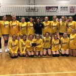 Girls 7th Grade Volleyball falls to Windsor Middle School 2 – 1