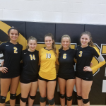 Festus Varsity Volleyball Celebrates Senior Night With A Sweep Of Bismarck
