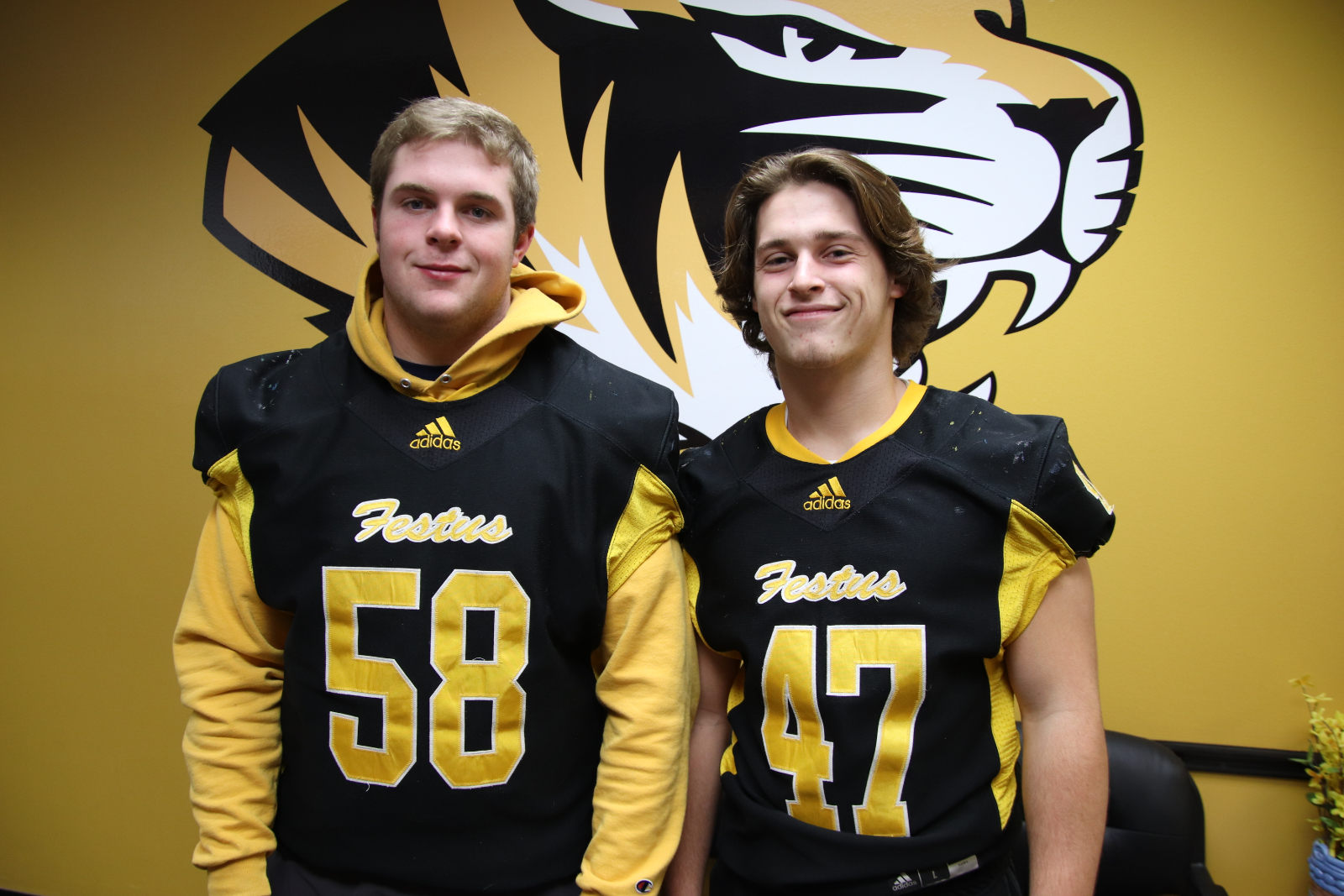 Two Tigers Named To All-State Football Team