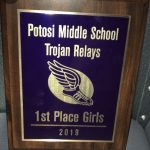 Girls take 1st and Boys 2nd – Potosi Middle School Invitational