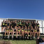 Girls Middle School Cross Country finishes 1st place at Forest Park Festival