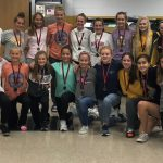 Girls Middle School Cross Country finishes  season undefeated