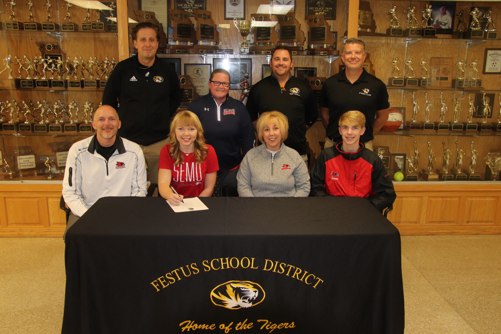 Rickermann Signs To Play Softball At SEMO