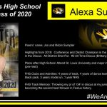 CELEBRATING OUR SENIOR SPRING SPORT ATHLETES:  Alexa Sumpter – Girls Track