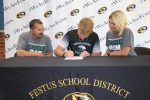 Festus Tiger Luke Greenstreet Signs To Play College Football