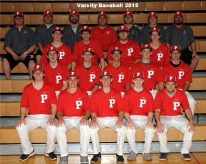 2015 Spring Sports Team