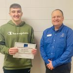 JAKE REICHARD-ANNOUNCED AS 'CENTIER BANK PERFORMER OF THE WEEK'