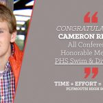 NORTHERN LAKES CONFERENCE HONORS – PHS SENIOR-CAMERON RIDDLE