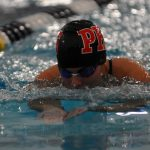 BOYS SWIM & DIVE TEAM COMPETE IN FINAL REGULAR SEASON MEET