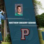 PLYMOUTH ATHLETICS – SPRING SEASON SENIOR SPOTLIGHT – MATTHEW GERARD