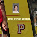 PLYMOUTH ATHLETICS – SPRING SEASON SENIOR SPOTLIGHT – KOREY KOPETSKI