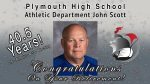 Mr. Scott Retires From Plymouth Schools