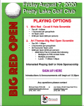 2020 – ART THOMAS BIG RED OPEN GOLF OUTING – SIGN UP TODAY!!!!