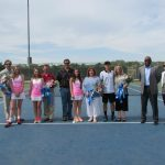 Tennis honors the senior class of 2015