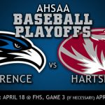 UPDATE: The first round baseball playoff series has been moved to Saturday/Monday