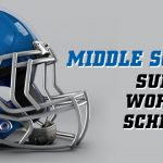 Middle School Football Summer Workout Schedule