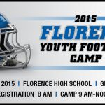Florence Youth Football Camp, Aug 1