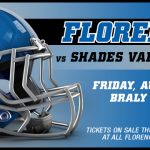 FLORENCE vs SHADES VALLEY TICKETS