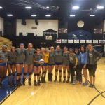 Volleyball wins the Florence Falcon Classic Gold Division Tournament