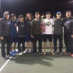 FALCONS ADD TWO TENNIS TROPHIES TO THE CASE THIS WEEKEND