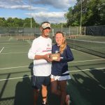 Lily Holmes repeats as tennis singles champion