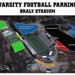 Parking Information for Varsity Football
