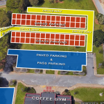 Basketball Parking at Coffee Gym
