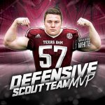 Braden White wins Defensive Scout Team MVP for Texas A&M