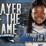Jalexis Russell, Player of the Game vs Bob Jones